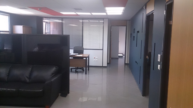 New Offices In Athens hallway