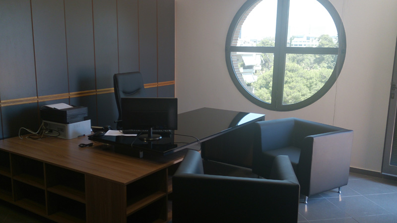 New Offices In Athens CEO office