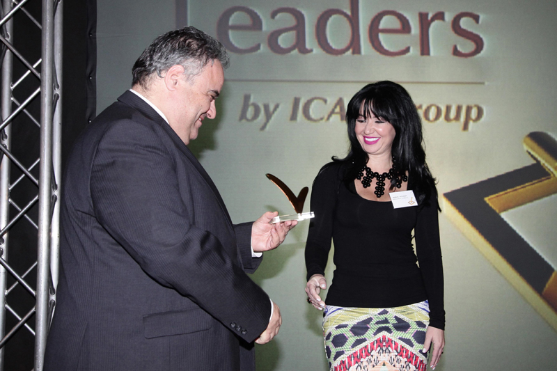 Icap True Leader award ceremony