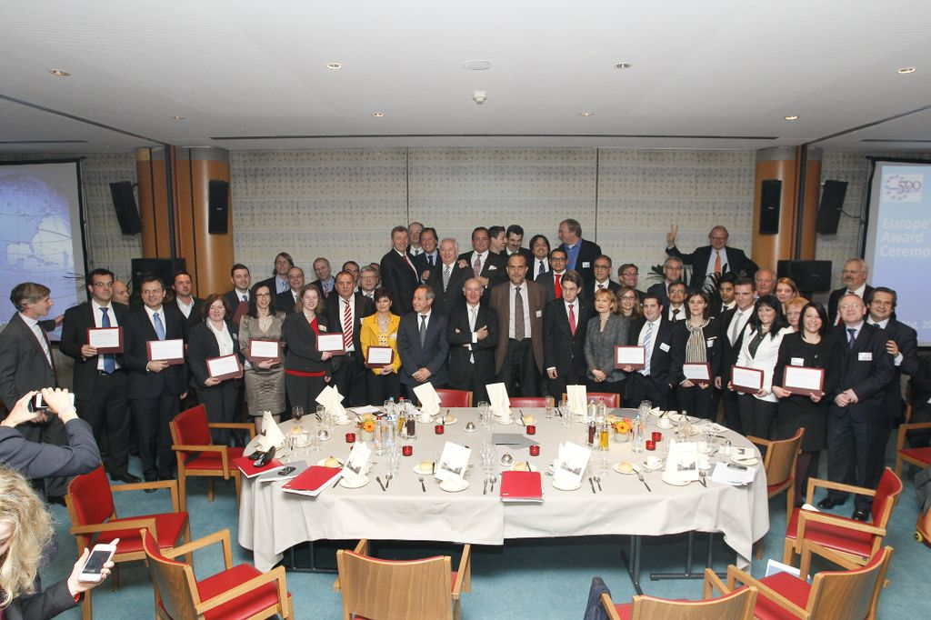 Europe 500 Award participants photo